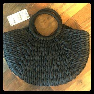 Zara NWT woven bag